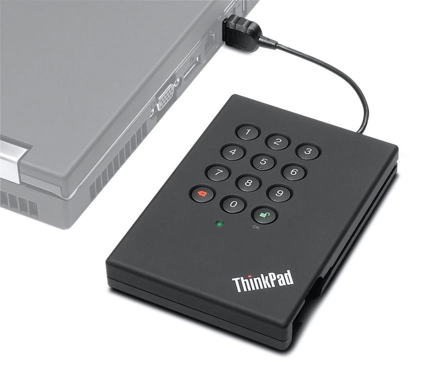ThinkPad USB Secure Hard Drive